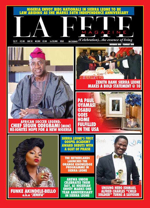 DEC 2018 – FEB 2019 e-MAGAZINE ISSUE